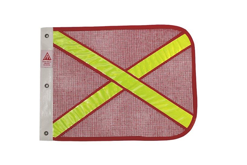 bandeirola vermelha refletiva amarela cópia