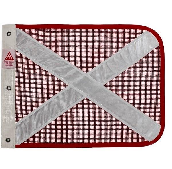 bandeirola vermelha refletiva branca cópia